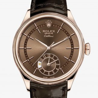 rolex Cellini 39 mm oro Everose 18 ct finitura lucida 50525