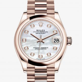 rolex Datejust Oyster 31 mm oro Everose 278245