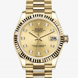 rolex Datejust Oyster 31 mm oro giallo 278278