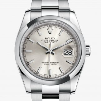 rolex Datejust Oyster 36 mm acciaio Oystersteel 116200