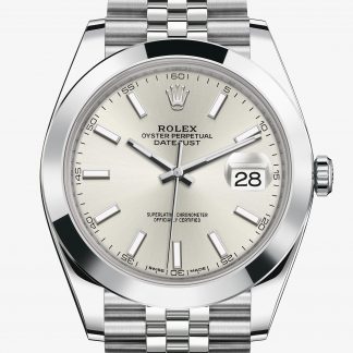 rolex Datejust Oyster 41 mm acciaio Oystersteel 126300