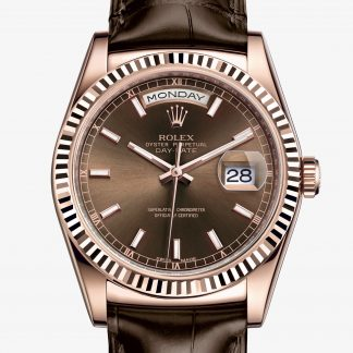 rolex Day-Date Oyster 36 mm oro Everose 118135