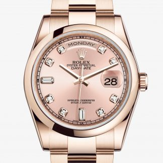 rolex Day-Date Oyster 36 mm oro Everose 118205