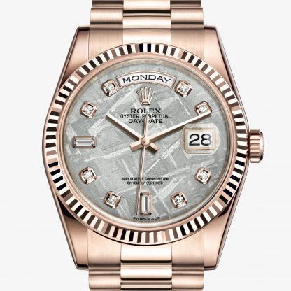 rolex Day-Date Oyster 36 mm oro Everose 118235