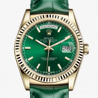 rolex Day-Date Oyster 36 mm oro giallo 118138