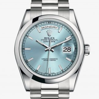 rolex Day-Date Oyster 36 mm platino 118206