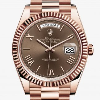 rolex Day-Date Oyster 40 mm oro Everose 228235