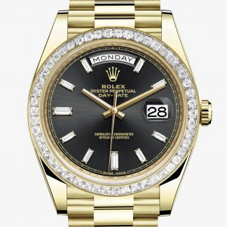 rolex Day-Date Oyster 40 mm oro giallo e diamanti 228398TBR