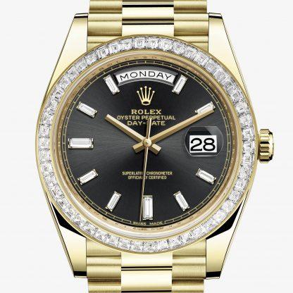 rolex Day-Date Oyster 40 mm oro giallo e diamanti 228398TBR