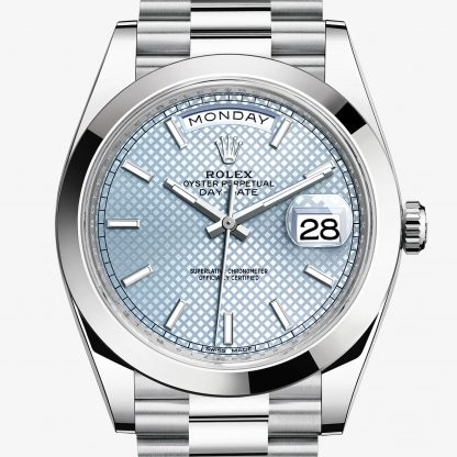 rolex Day-Date Oyster 40 mm platino 228206
