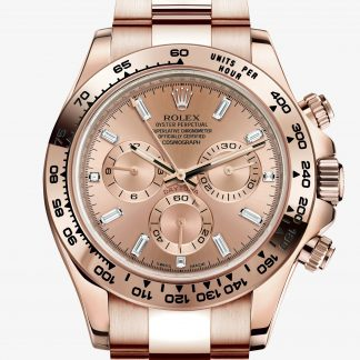 rolex Daytona Oyster 40 mm oro Everose 116505