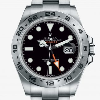 rolex Explorer II Oyster 42 mm acciaio Oystersteel 216570