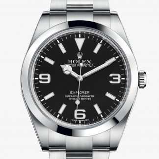 rolex Explorer Oyster 39 mm acciaio Oystersteel 214270