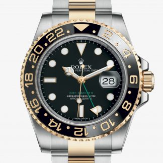 rolex GMT-Master II Oyster 40 mm acciaio Oystersteel e oro giallo 116713LN