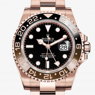 rolex GMT-Master II Oyster 40 mm oro Everose 126715CHNR
