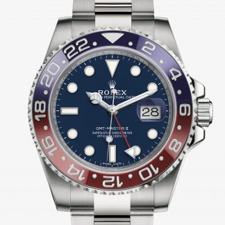 rolex GMT-Master II Oyster 40 mm oro bianco 116719BLRO