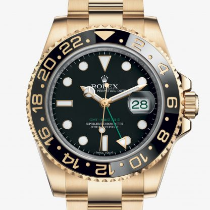 rolex GMT-Master II Oyster 40 mm oro giallo 116718LN