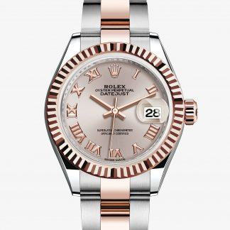 rolex Lady-Datejust Oyster 28 mm acciaio Oystersteel e oro Everose 279171