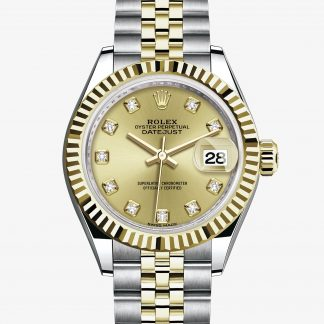 rolex Lady-Datejust Oyster 28 mm acciaio Oystersteel e oro giallo 279173