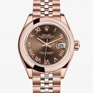 rolex Lady-Datejust Oyster 28 mm oro Everose 279165