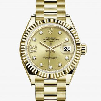 rolex Lady-Datejust Oyster 28 mm oro giallo 279178