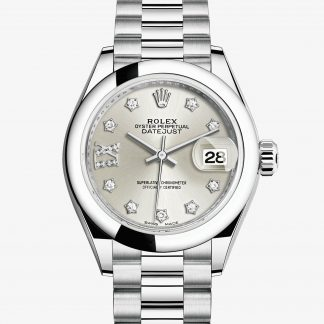 rolex Lady-Datejust Oyster 28 mm platino 279166