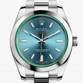 rolex Milgauss Oyster 40 mm acciaio Oystersteel 116400GV