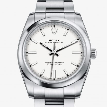 rolex Oyster Perpetual Oyster 34 mm acciaio Oystersteel 114200