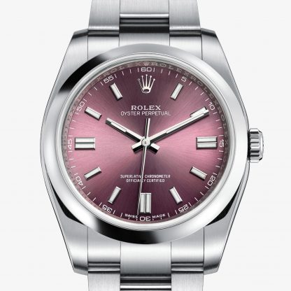 rolex Oyster Perpetual Oyster 36 mm acciaio Oystersteel 116000