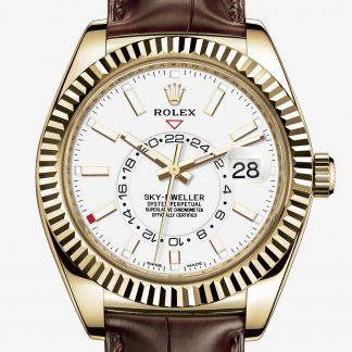 rolex Sky-Dweller Oyster 42 mm oro giallo 326138