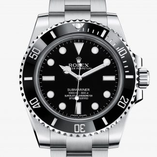 rolex Submariner Oyster 40 mm acciaio Oystersteel 114060