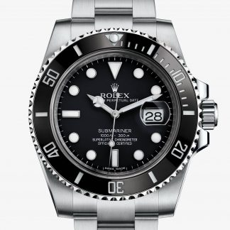 rolex Submariner Oyster 40 mm acciaio Oystersteel 116610LN