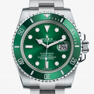 rolex Submariner Oyster 40 mm acciaio Oystersteel 116610LV