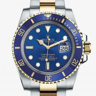 rolex Submariner Oyster 40 mm acciaio Oystersteel e oro giallo 116613LB