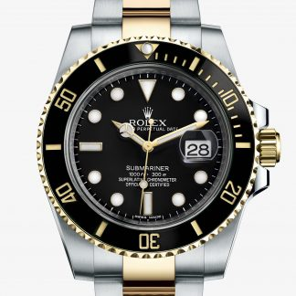 rolex Submariner Oyster 40 mm acciaio Oystersteel e oro giallo 116613LN