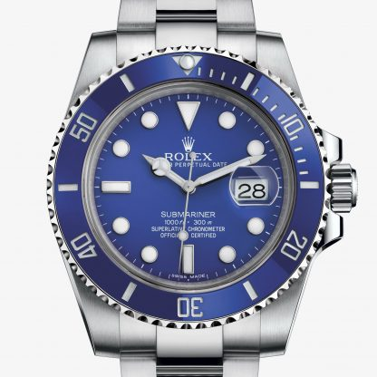 rolex Submariner Oyster 40 mm oro bianco 116619LB