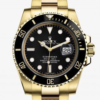 rolex Submariner Oyster 40 mm oro giallo 116618LN