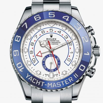 rolex Yacht-Master II Oyster 44 mm acciaio Oystersteel 116680