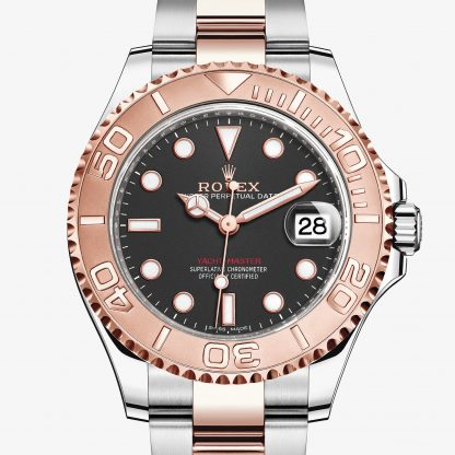 rolex Yacht-Master Oyster 37 mm acciaio Oystersteel e oro Everose 268621