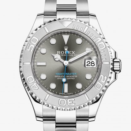 rolex Yacht-Master Oyster 37 mm acciaio Oystersteel e platino 268622