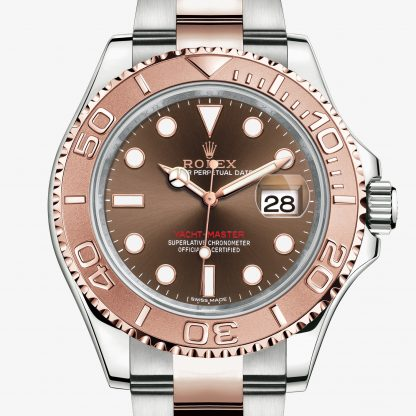 rolex Yacht-Master Oyster 40 mm acciaio Oystersteel e oro Everose 116621